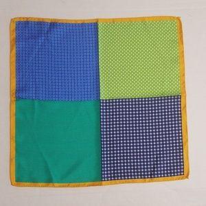 Ted Baker London Mens Multicolored Pocket Square